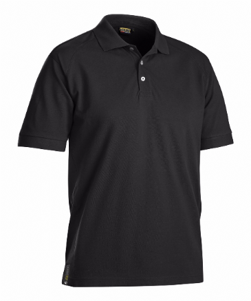 Blaklader 3326 Pique UV Protection Polo Shirt (Black)